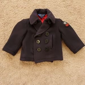 Authentic Polo by Ralph Lauren Boys Peacoat
